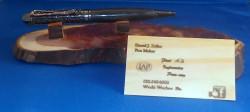 Gun Metal Filligree Pen