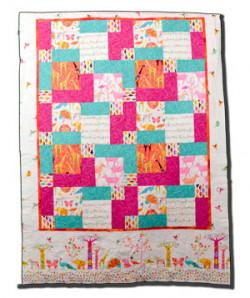 Handmade Kid's Animal Quilt