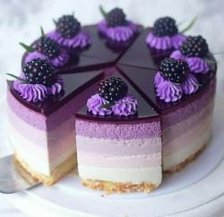 Lavender Soap - Luxurious Fake Food - Lavander Cake - Lavender Cake Soap