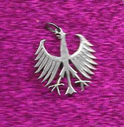 5 Mark no rim Silver (German)