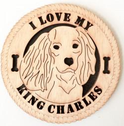 Cavalier King Charles Desk Plaque