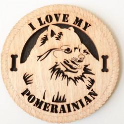 Pomeranian Dog Plaque