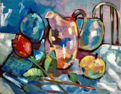 Still Life: Pot of Luck , by Washington artist Daniel Nie