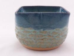 Square Fish Patterned Bowl