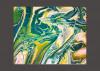 """""""Let It Flow"""" 8x10 Acrylic Pour on canvas"""