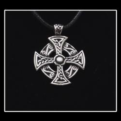 Round Celtic Cross Necklace